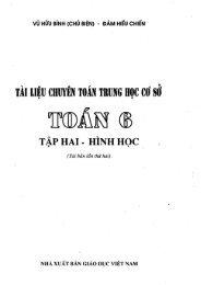 Tài liệu chuyên toán THCS 6- Hình Học