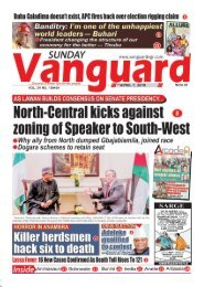 07042019 - North Central kicks against zoning of Speaker of South - West