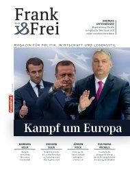 Leseprobe Magazin Frank&Frei 09/2019