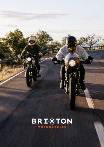 BRIXTON MOTORCYCLES 2019 español
