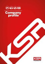KSR GROUP Company Profile 2019 deutsch