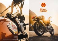 Royal Enfield Folder 2019 deutsch