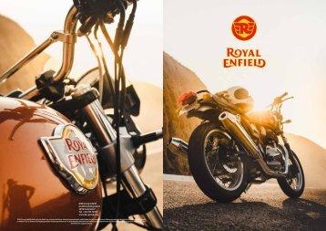 Royal Enfield Folder 2019 deutsch