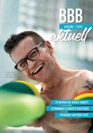 Das Kunden Magazin der Berliner Bäder - Ausgabe 01/2019