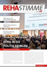 RehaStimme April 2019