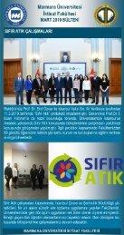 Marmara Üniversitesi İktisat Fakültesi Mart 2019 Bülteni