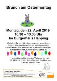 20190422 Plakat Osterbrunch