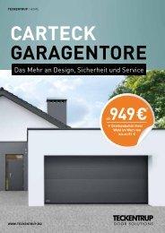 CARTECK Garagentor - BAUSTOFF DIETRICH