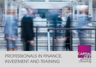 Capital City Training & Consulting Brochure