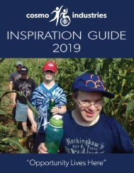 Cosmo Industries Inspiration Guide 2019