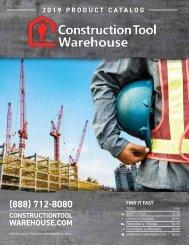 2019 Construction Tool Warehouse Catalog