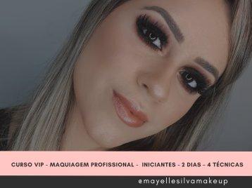 Curso VIP Maquiagem Profissional Iniciantes 2 dias – 4 técnicas