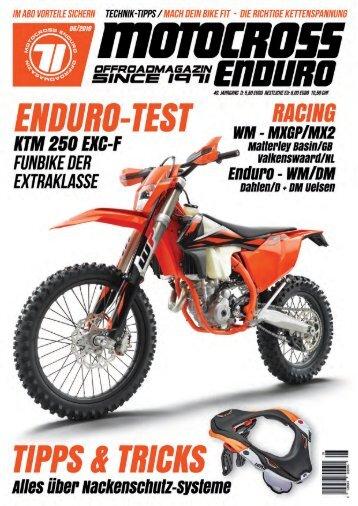 Motocross Enduro Ausgabe 05/2019