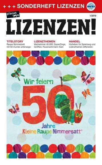 planet toys Sonderheft LIZENZEN! 1/19