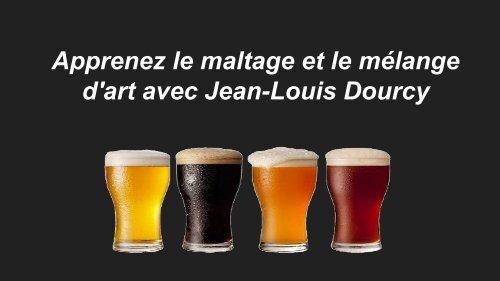 Apprenez le maltage et le mélange d'art avec Jean-Louis Dourcy