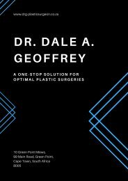 Dr. Dale A. Geoffrey_ A One-Stop Solution for Optimal Plastic Surgeries