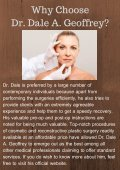 Dr. Dale A. Geoffrey_ A One-Stop Solution for Optimal Plastic Surgeries - Page 5