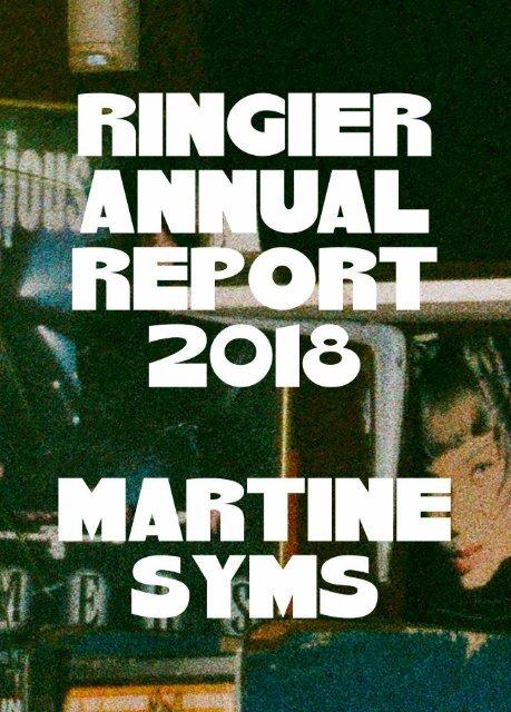 Ringier Annual Report 2018