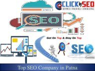 Click By SEO – Hi-tech SEO Company in Patna