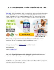KETO Pure Diet Review Benefits, Side Effects & Best Price-converted