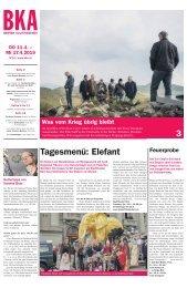 Berner Kulturagenda N°14