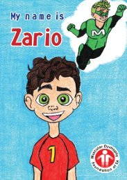 My name is Zario