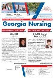 Georgia Nursing - May 2019
