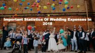 Important Statistics Of Wedding Expenses In 2018