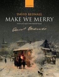 Bednall Make we merry