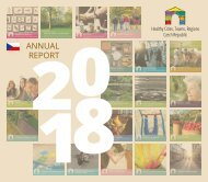 Healthy Cities, Towns, Regions Czech Republic Annual Report 2018