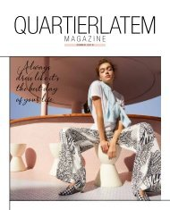 Quartier Latem magazine VJ19