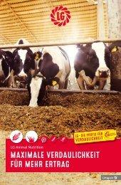 Maximale Verdaulichkeit für mehr Ertrag - LG Animal Nutrition