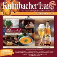 2018/11 Kulmbacher Land