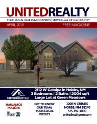 United Realty Magazine April 2019