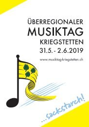 Überregionaler Musiktag Kriegstetten