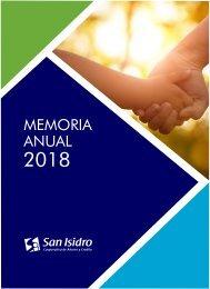 DISEÑO de memoria anual 2018