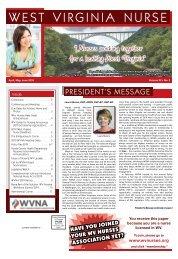 West Virginia Nurse - April 2019