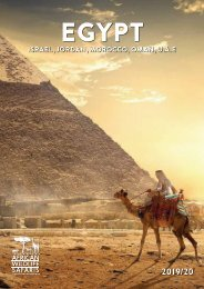 2019/20 Egypt & The Middle East Brochure