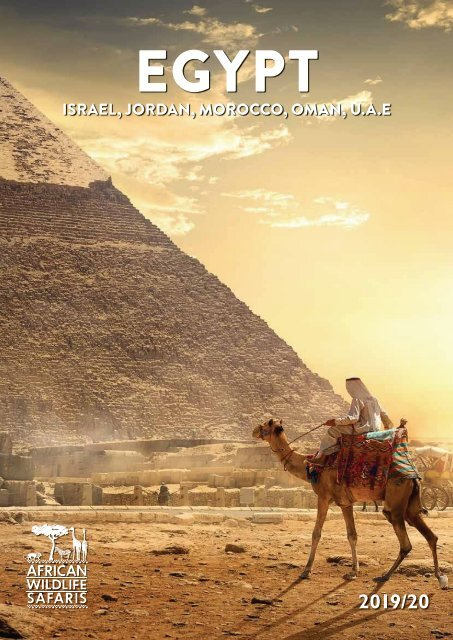 2019 20 Egypt The Middle East Brochure