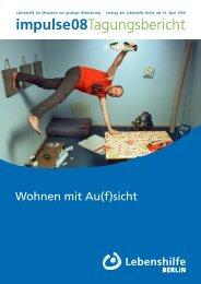 impulse08Tagungsbericht - Lebenshilfe  Berlin