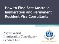How to Find Best Australia Immigration and Permanent