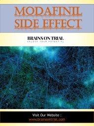 Modafinil Side Effect