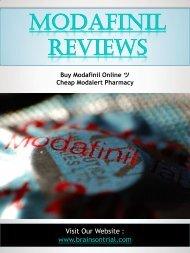 Modafinil Reviews