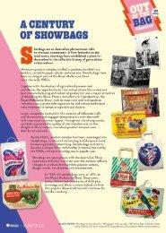 Showbags Flipbook