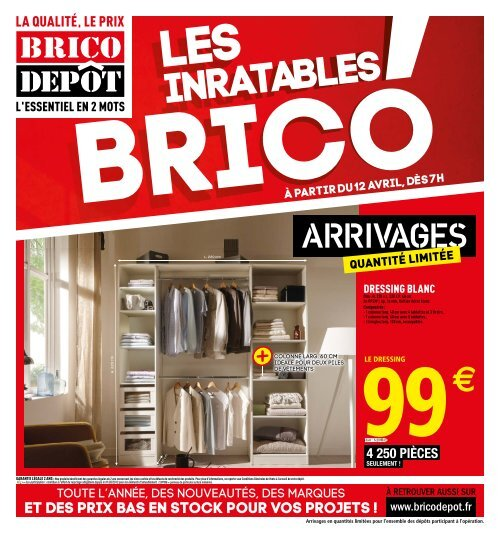 Bricodepot 12 Avril 25 Avril 2019