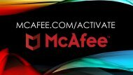 How to Activate Mcafee from  McAfee.com/Activate