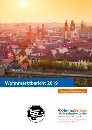 Wohnmarktbericht 2019: Region Würzburg