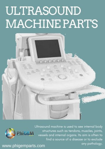 Browse Ultrasound Machine Parts