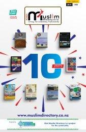 Kiwi Muslim Directory 10th Edition