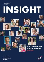 Insight March 2019 - Impacting More Lives Than Ever